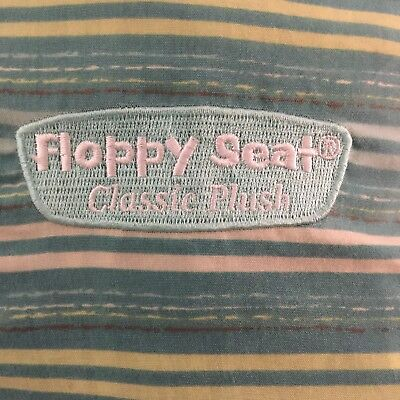 Floppy Seat Baby & Toddler Shopping Cart Cover High Chair Green/Blue