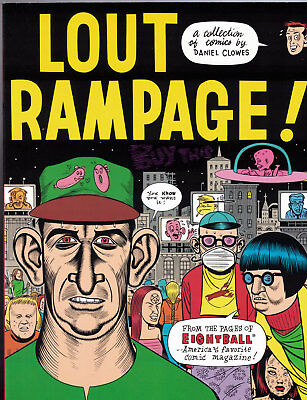 Lout Rampage An Eightball Book #1 TPB - 1ST print - Fantagraphics, 1992  - NM
