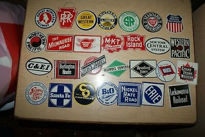Post Railroad cereal premiums all 28 signs!!