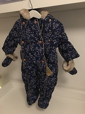 Mothercare Baby Girl Snowsuit