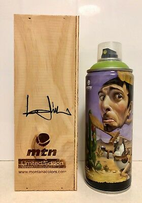 Limited Edition MTN Montana Colors *BELIN* Spray Paint Can in Wood Display Box
