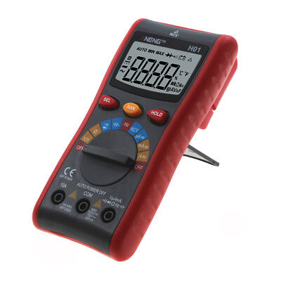 4000 Counts Multimeter Digital LCD with Backlight AC/DC Ammeter Voltmeter 1pc