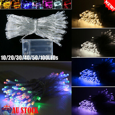 1M-10M LED String Lights Battery Operated Christmas Party Wedding Decor Light AU