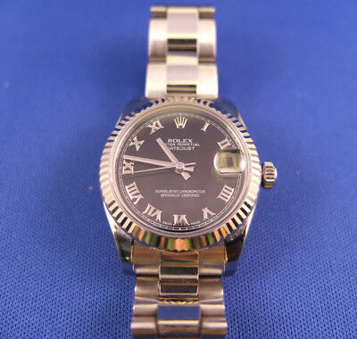 Rolex Oyster Perpetual Datejust Lady 31 - Stahl Weissgold - Ref. 178274