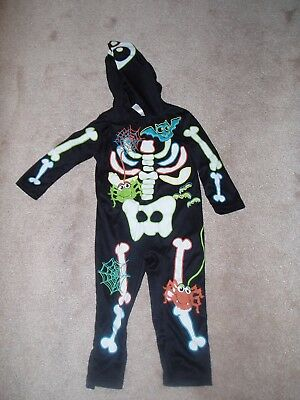 Boys Halloween costumes Skeletons age 1-2 years  Childrens Girls new fancy dress