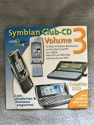 Original Psion Software Symbian Club CD Volume 3