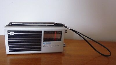 Vintage 1970 Toshiba IC-70 AM/FM Transistor Radio.  Made in Japan