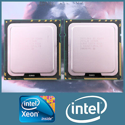 Matched Pair Of Intel Xeon X5680 6 Core 3.33Ghz 12Mb 6.4Gt/s Processor Cpu Slbv5