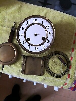 Wall Clock Vienna Type Movement Plus Extras Spares Or Repairs