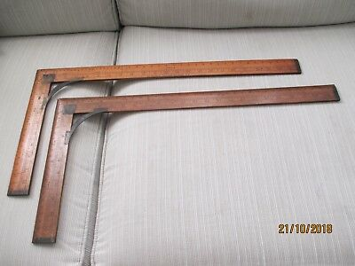 "Antique Proportionate Box Wood  Waist Measure 24""- 12"" A Pair."