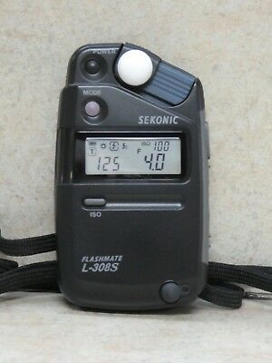 Sekonic Flashmate L-308S Light Meter in great condition