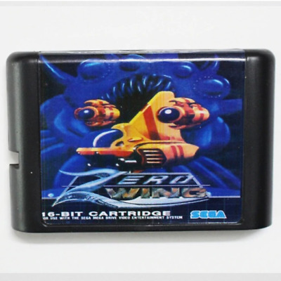 Zero Wing 16 bit MD Game Card For Sega Mega Drive For Genesis