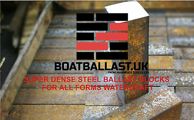 Solid Steel Ballast For Narrow Boats & All Watercraft