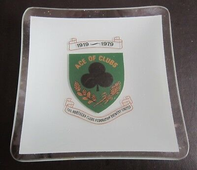 Federation Brewery Ace of Clubs ashtray