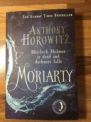 Moriarty - UK 1/2 impression SIGNED H/B with receipt NEW+free House of Silk!