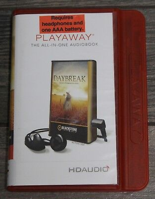 Daybreak The Day of Reckoning Series Book 1 Playaway ALL IN ONE AUDIOBOOK