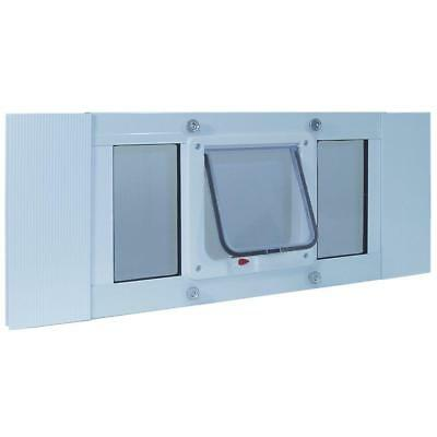 Ideal Perfect Pet Aluminum Sash Window Cat Door in 3 sizes for cats up to 12 lbs
