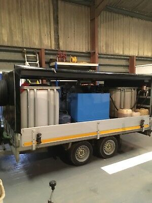 Edge Grimebuster Trailer Mounted Pressure Washer Steam Cleaner Low Hours