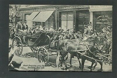 Dundee - Royal Procession on Perth Road 1914