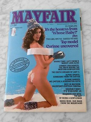 Mayfair Magazine Patricia Hayes Vol 19 No 1 Paul Raymond Like New Condition!!!