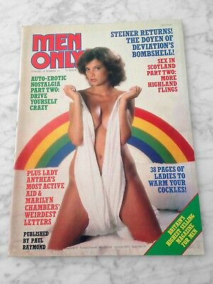 Men Only Magazine Vol 45 No 10 Paul Raymond Like New Condition!!!