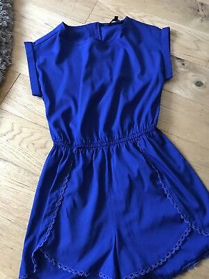New Look Blue All In one / playsuit / Party / Christmas Age 11