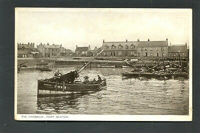 Port Seton nr Musselburgh - The Harbour & Fishing Boats