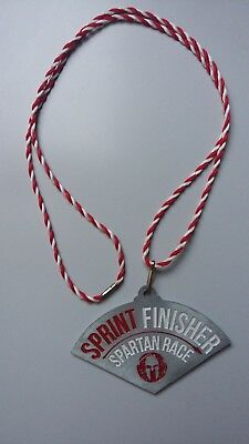 Spartan Race Finisher Medaille Sprint, Rot must Have