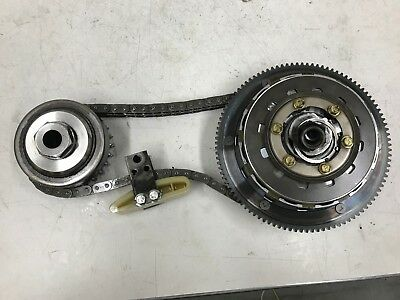 1999 Harley Dyna Low Rider Complete Primary Clutch Chain Gears Nice Clean