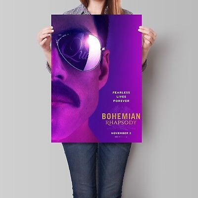 Bohemian Rhapsody Poster Rami Malek 2018 Movie Queen Art Print