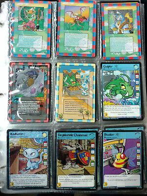 Neopets Trading Card Game Lot! Around 200 cards. Holographic Rares and More!!!