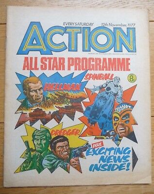 Action IPC - Last Single Issue! - 12th November 1977
