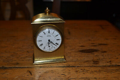 vintage miniature carriage clock by astral