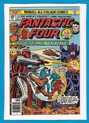 Fantastic Four #175_Oct 1976_Very Fine_High Evolutionary_Galactus_Bronze Age Uk