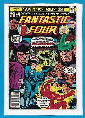 Fantastic Four #177_December 1976_Very Good+_Frightful Four_Bronze Age Uk!