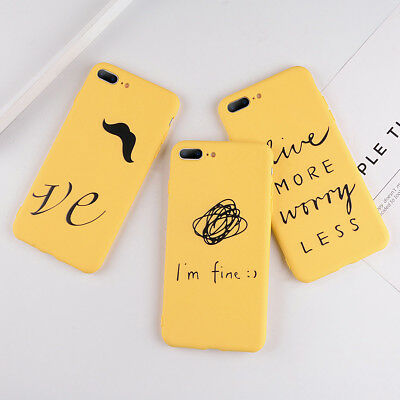 Shockproof Cute Pattern Rubber Silicone Case Cover for iPhone 5 6s 7 Plus XS XR