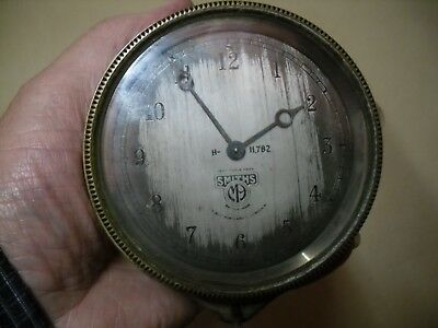 Vintage  Smiths M9  Car Clock  For Spares Or Repair