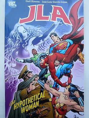 JLA: Hypothetical Woman (Justice League of America) Paperback – 25 Apr 2008 by G