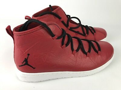 sale retailer c3f05 59edf Nike Jordan Galaxy Gym Red Leather Air Jordan Basketball Shoes Size 11  820255-60