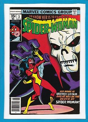 Spider-Woman #3_June 1978_Very Fine_Brother Grimm_Bronze Age Marvel!