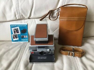 Polaroid SX-70 Instant Camera-Tested&Working-Great Condition-Ships Same Day