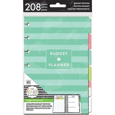 Create 365 The Mini Happy Planner Extension Pack - Budget