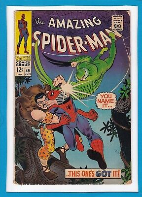 Amazing Spider-Man #49_Jun 1967_Vg Minus_Vulture_Kraven The Hunter_John Romita!