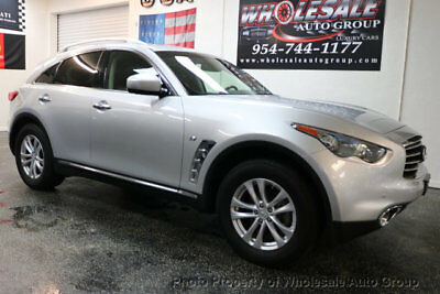 2015 INFINITI QX70 AWD 4dr CARFAX CERTIFIED . FULLY LOADED. MINT CONDITION. VIEW IMAGES. CALL 954-744-1177