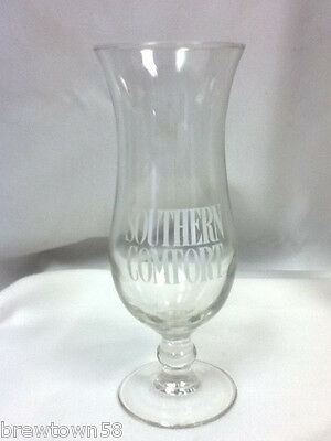 Southern Comfort cocktail glass drinking glasses 1 hurricane cup liquor EU6