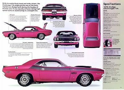 1970 Dodge Challenger T/A 340 ci 290 hp 6 Six Pack 3 Holley's Info/Specs/photo