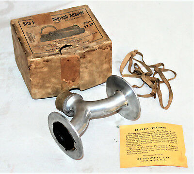 Alto Phonograph Radio Adapter in Box for an Edison Diamond Disc
