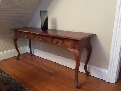 Pretty Antique Hall/Staircase Table/Console with Drawer