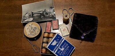 Antique Vintage Sewing Notions Lot