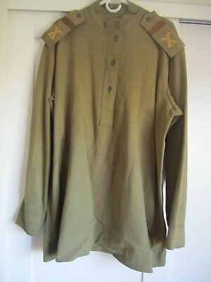 Wwi Imperial Russian Tunic-Original-Dated 1917-With Shoulder Boards